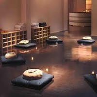 moderne meditatie ruimte